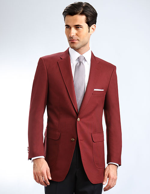 maroon blazer with jeans